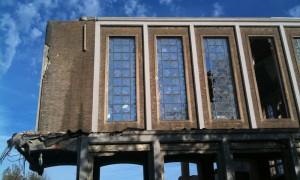 Maria Gorettikerk in Kerkrade (inmiddels volledig gesloopt) door Maurice Hermans